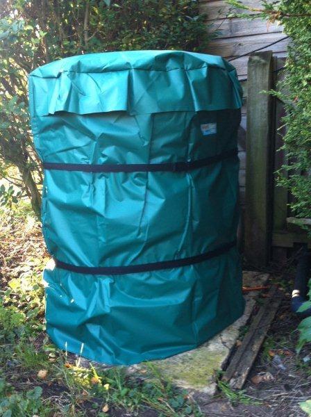 round heat pump winter cover