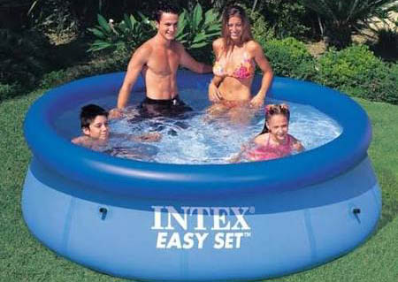 intex pools - hot splash heat pump