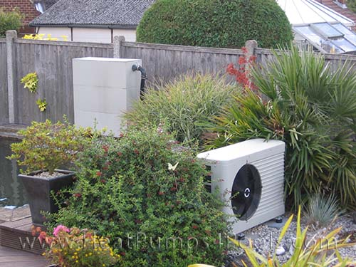 koi pond heat pump