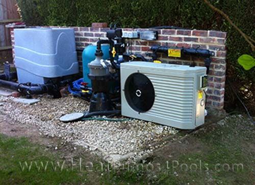 Through our sister company heatpumps4pools we can offer for Koi pool heaters