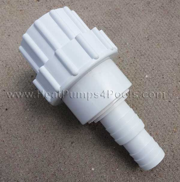 "Large Bestway Intex Hose Adaptor 32mm 38mm 1.25""/1.5"""