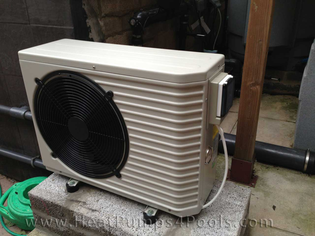 Pool heat pump photo gallery for Koi pool heaters