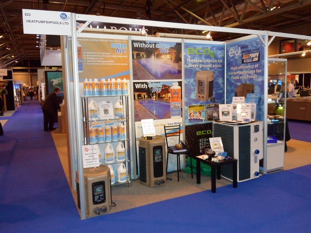 Heatpumps4pools ebay shops for Pool and spa expo