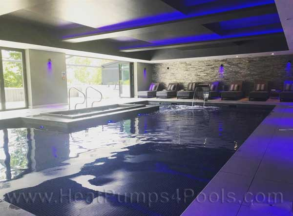 Rickerby Retreat Indoor Pool Desinged by HeatPumps4Pools