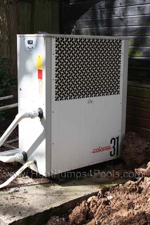 Sold Calorex Aw1231al Swimming Pool Heat Pump Used