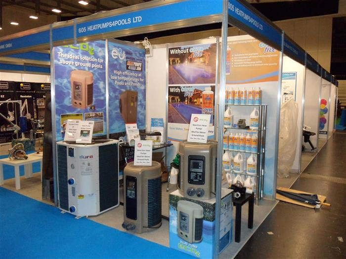 About us heatpumps4pools for Pool trade show magic