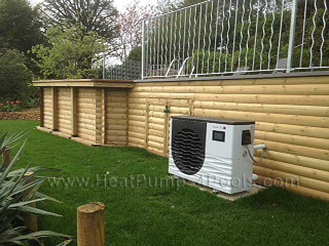 Thermotec inverter horizontal heat pumps 9kw to 24kw - Above ground heated swimming pools uk ...