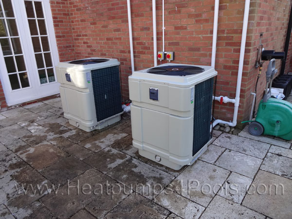 Angel fire swimming pool heat pump heater 12kw 17kw 25kw for Pompe a chaleur piscine 17kw