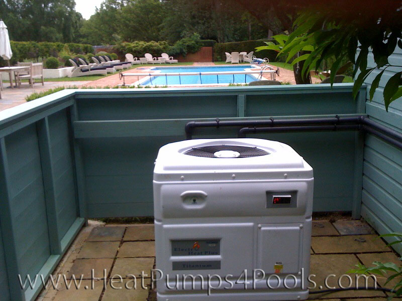 Waterco Swimming Pool Heat Pump - example