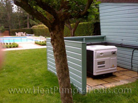 Waterco 44kw pool heat pump in Surrey 2010