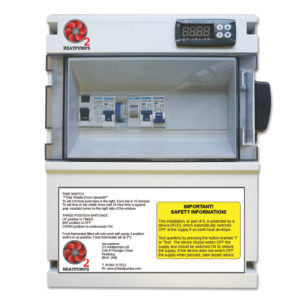 Heat Pump Electrical Control Box with Pump Timer