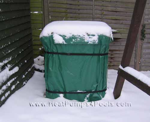 Swimming Pool Heat Pump Winter Cover