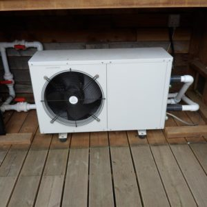 SOLD: Duratech Eco12 Second Hand Swimming Pool Heat Pump