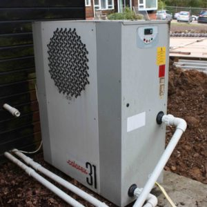 SOLD: Calorex AW1231AL Swimming Pool Heat Pump - Used