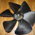 Replacement fan Blades for Solupiscinas/ VA-WPH/ Eco 7