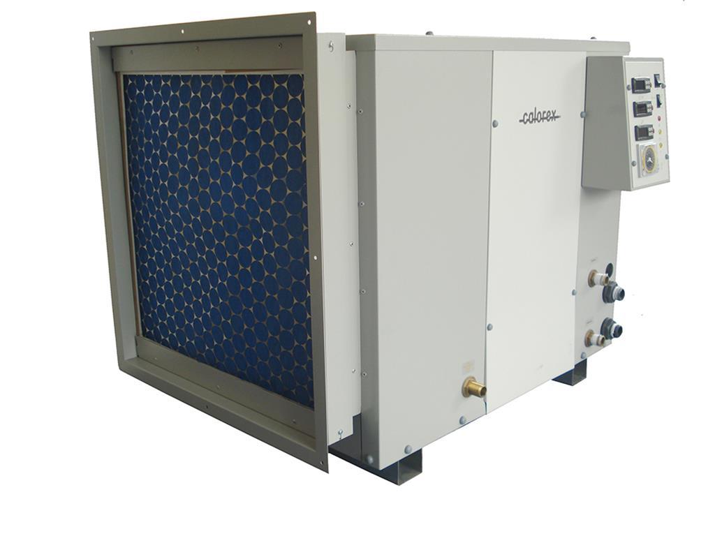 calorex AA300 induct dehumidifier