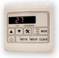 Duratech Heat Pump Digital Control Panel