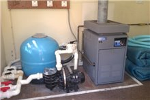SOLD: Gas boiler, filter, pump, solar cover etc - Used Pool Equipment
