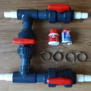 "1.5""/50mm Bypass Kit for Above Ground Pools"