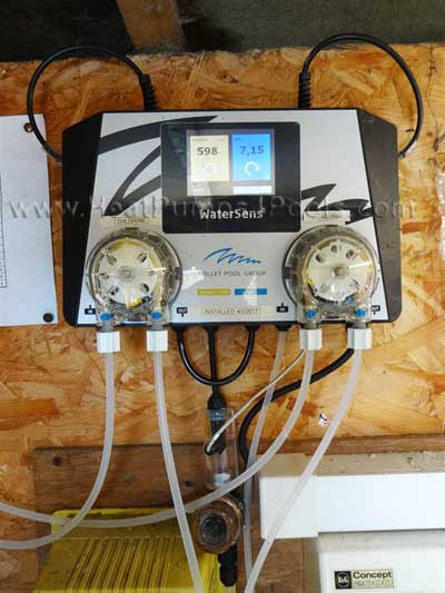 Watersens Chlorine & PH Automated Dosing System