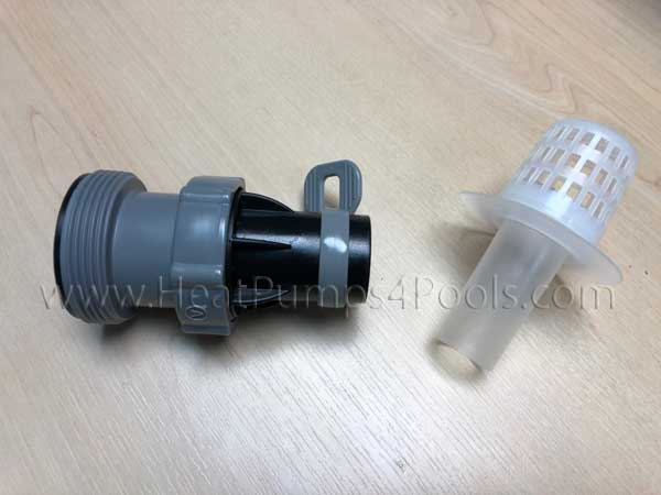 Intex/Bestway Hose Adaptor B1 to connect 38mm hose to 32mm pools