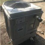 Used Heat Siphon Z5.75hp50 29kw, Single Phase, Digital Controls - Swimming Pool Heat Pump