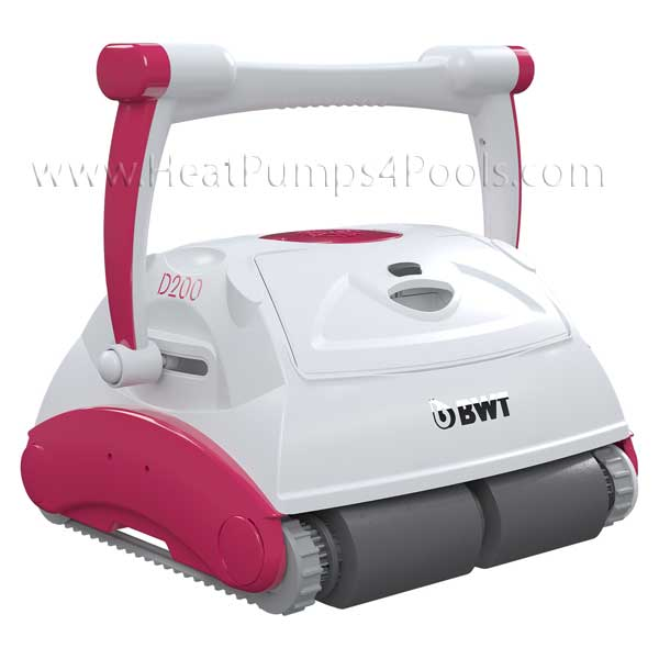 BWT D200 Robotic Electric Pool Cleaner with Carry Cart/Trolly