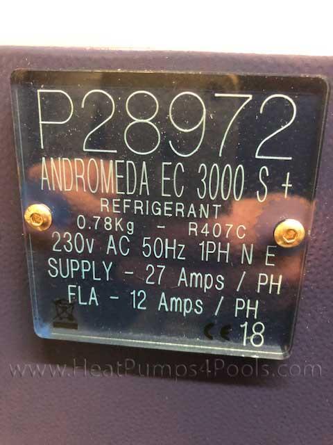 Second hand Heatstar Andromeda 3000 EC Super Plus