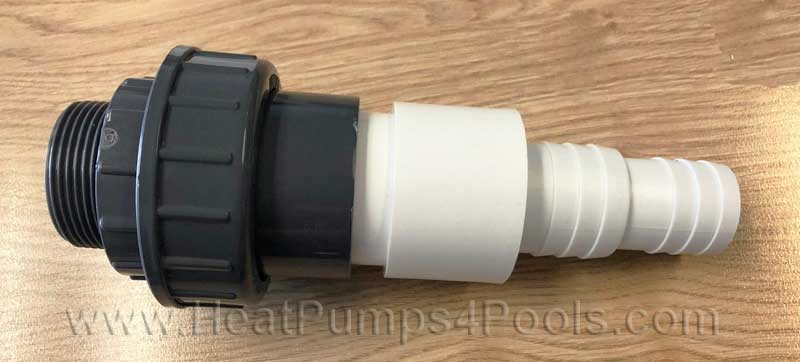 "hosetail-union 50mm to 1.5"" adaptor"