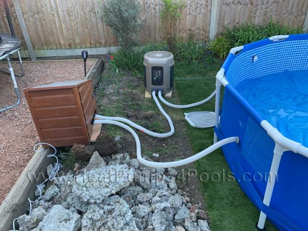 Sunspring Swimming Pool Heat Pump For Above Ground Pools 5kw To 14kw Heatpumps4pools