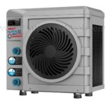 nano reversible heat pump extended season pools
