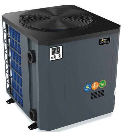 garden pac vertical heat pump