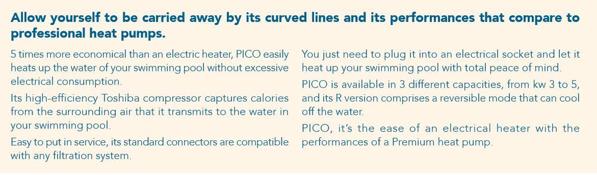 Pico Reversible Heat Pump 4kw